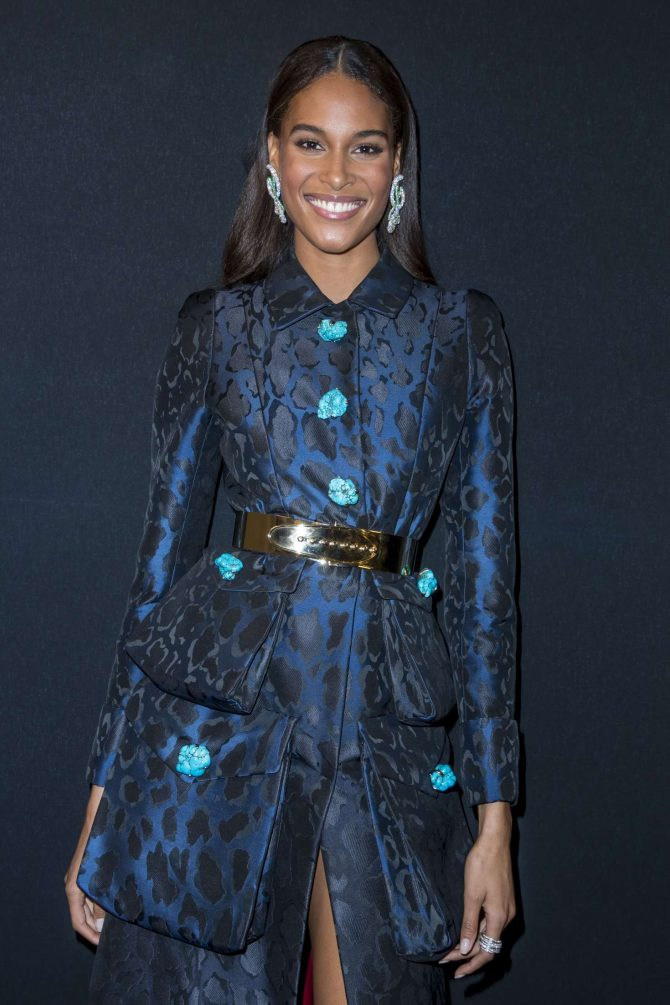 Cindy Bruna - 2018 Charity Dinner hosted by the AEM Association Children in Paris