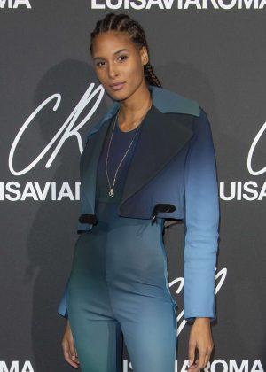 Cindy Bruna - CR Fashion Book x Luisasaviaroma: Photocall in Paris