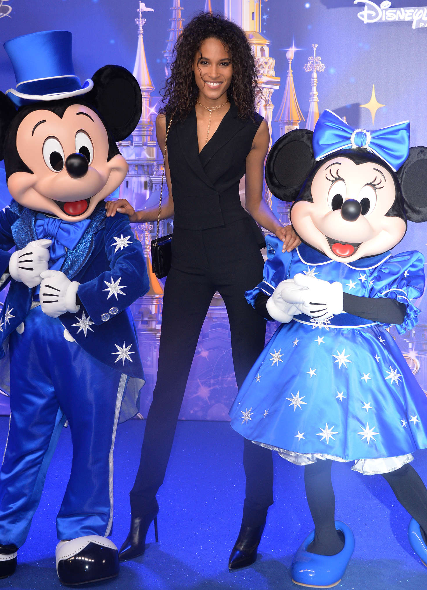 Cindy Bruna Disneyland 25th Anniversary Celebration In