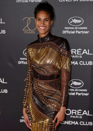 Cindy Bruna - L'Oreal 20th Anniversary Party in Cannes