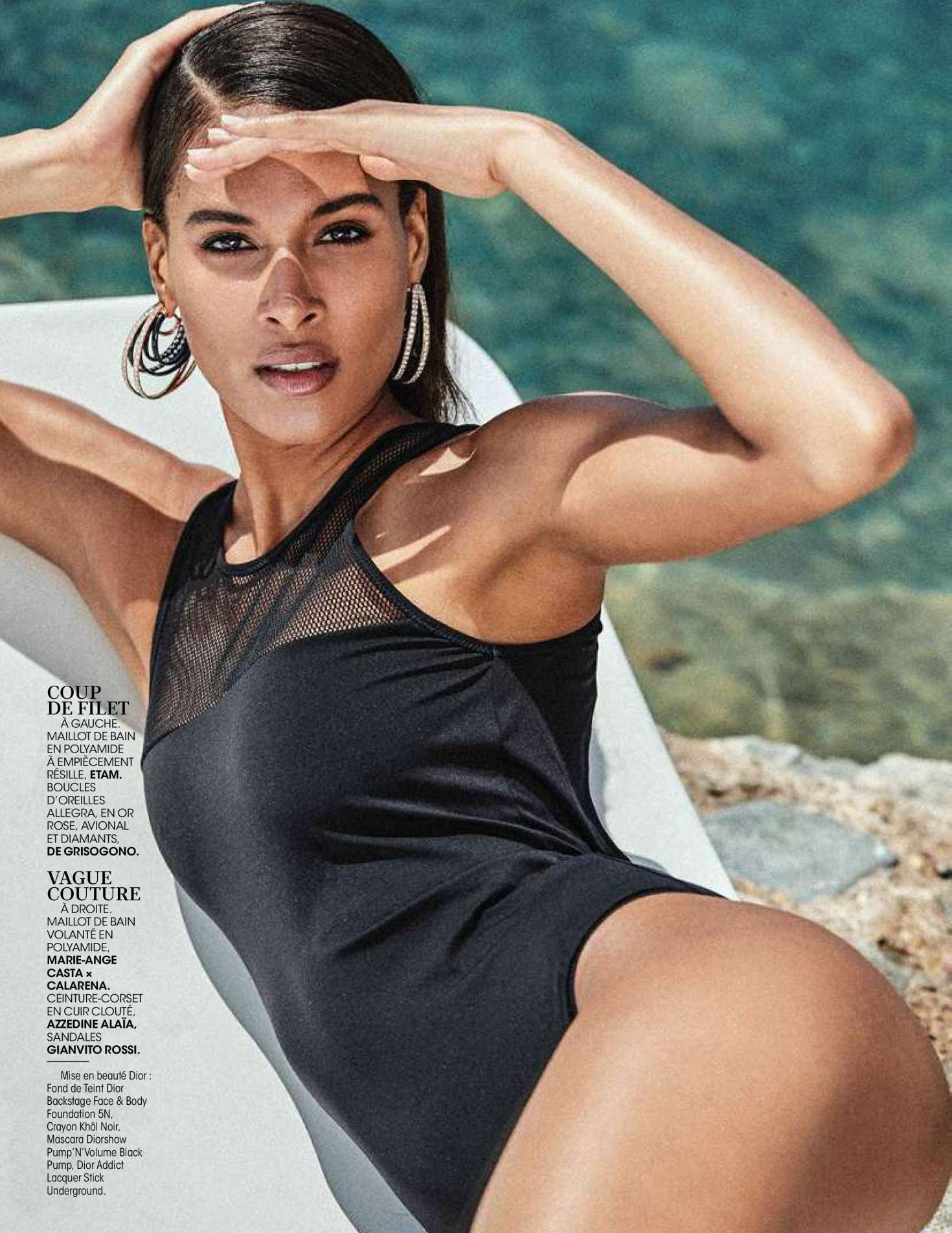 Cindy Bruna – Madame Figaro Magazine (June 2018)