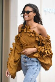 Cindy Bruna - On the Croisette in Cannes