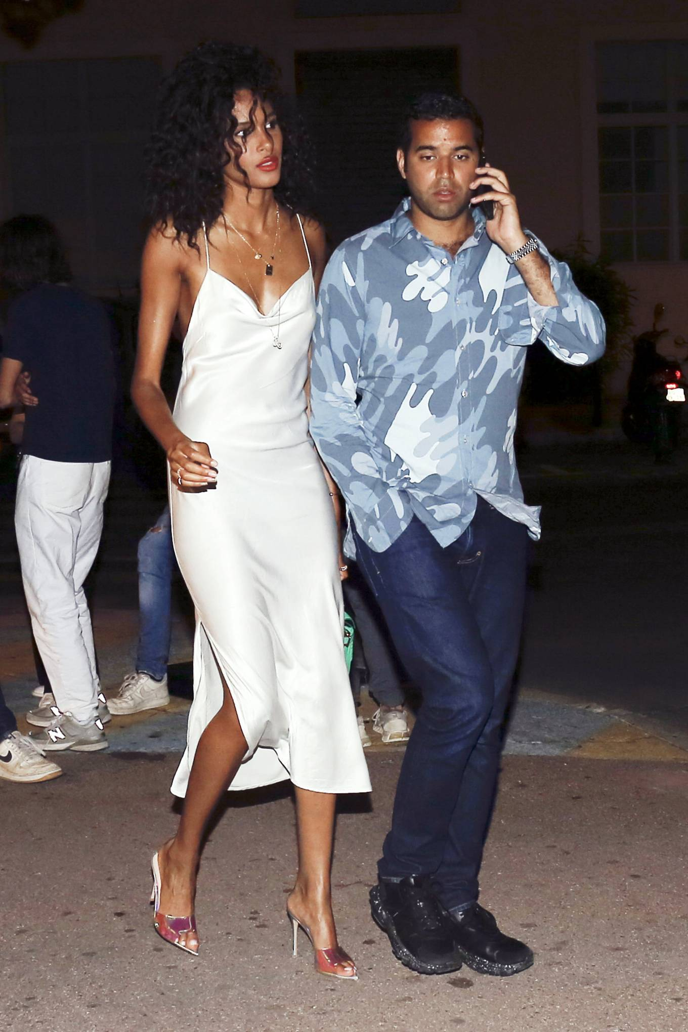 Cindy Bruna 2020 : Cindy Bruna – Seen at Vip room la Gioia in Saint Tropez-02