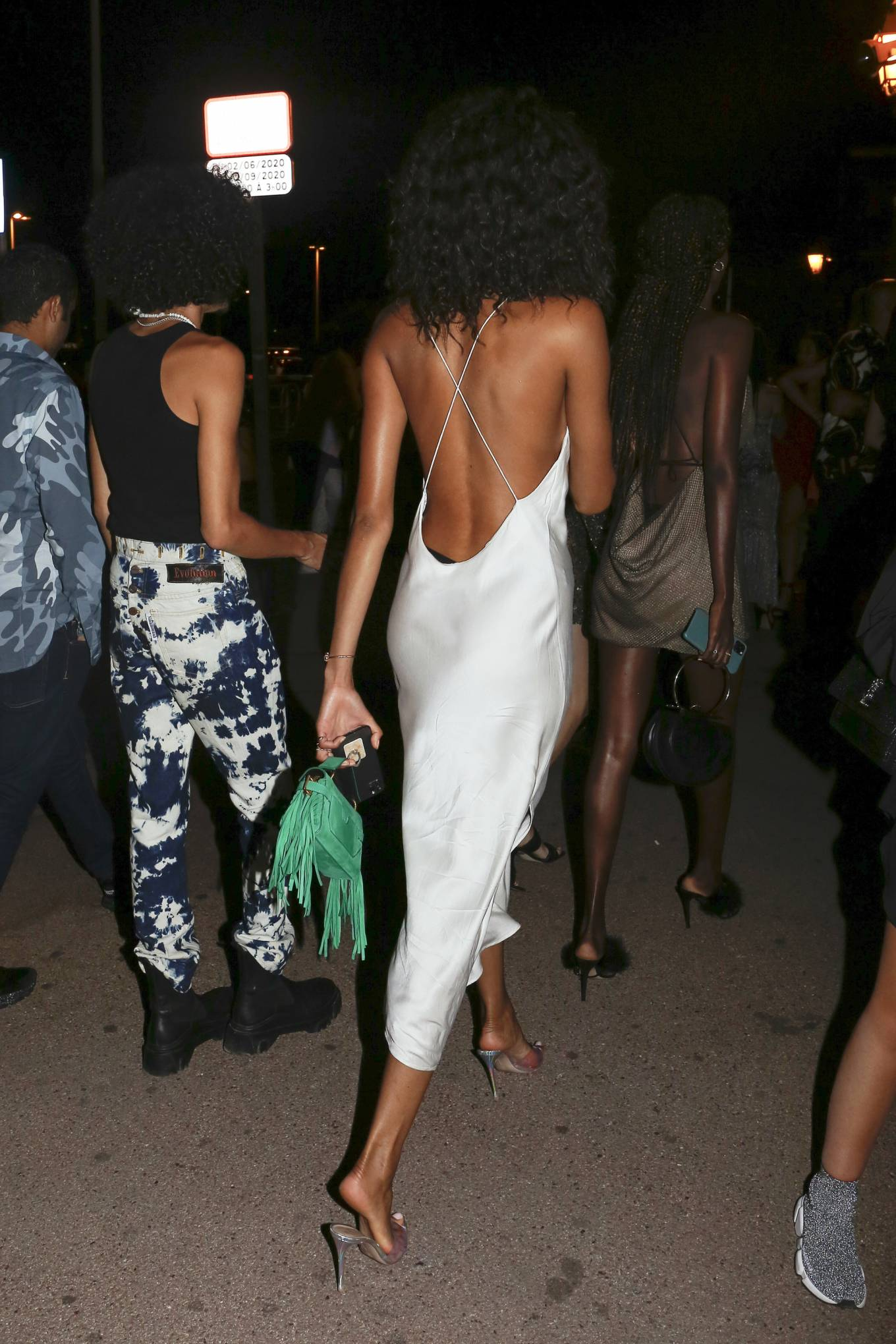 Cindy Bruna 2020 : Cindy Bruna – Seen at Vip room la Gioia in Saint Tropez-06