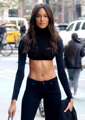 Cindy Bruna - Victoria's Secret Fashion Show Fittings in New York