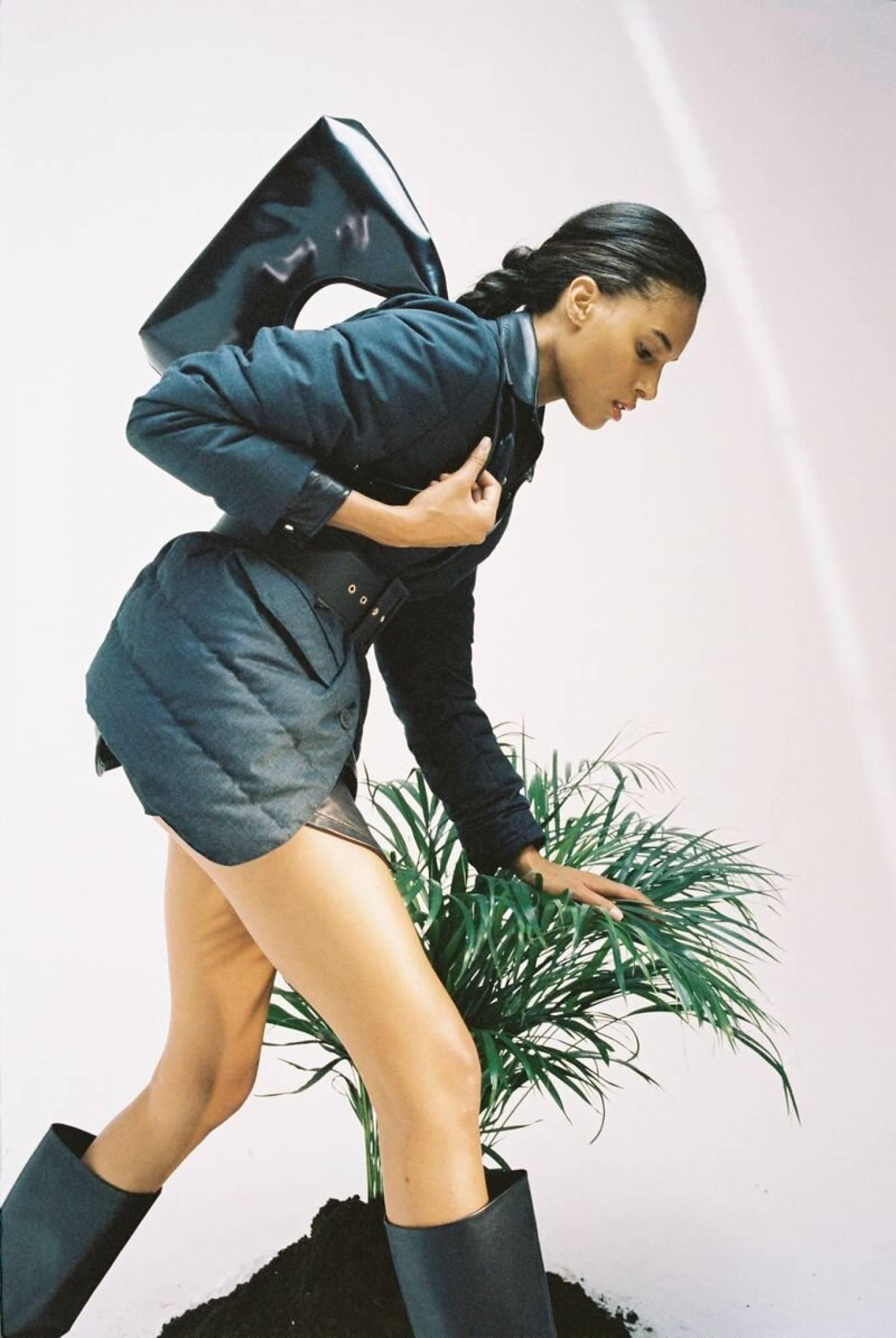 Cindy Bruna - Vogue Russia - October 2020