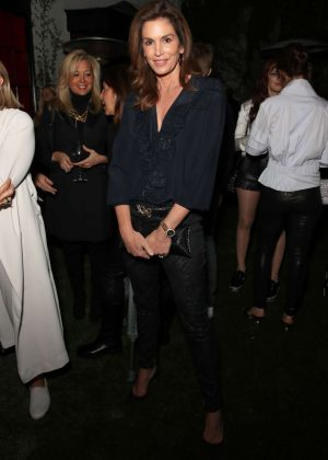 Cindy Crawford - 2018 Chanel Pre-Oscars Event in Los Angeles