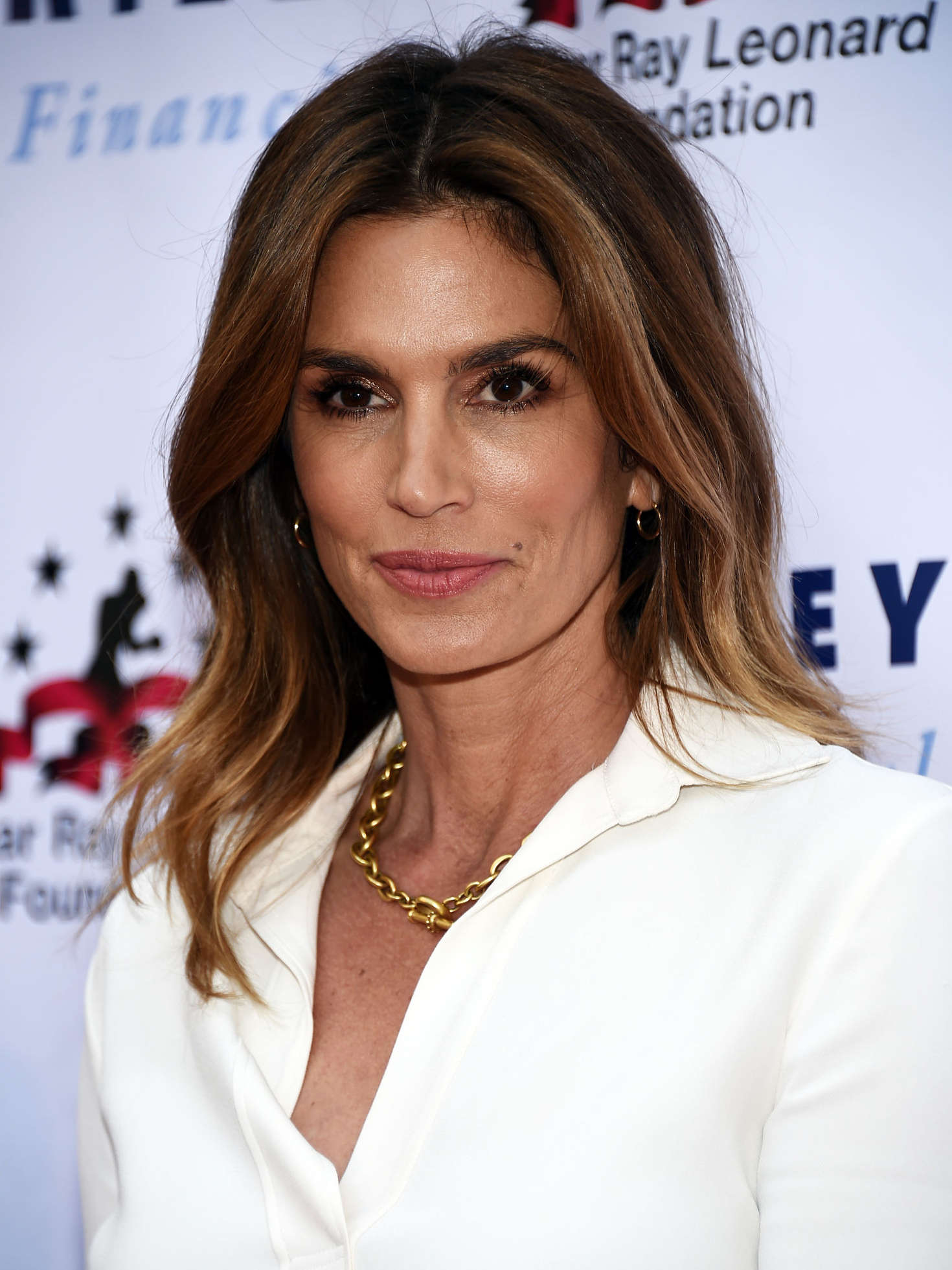 cindy crawford - 7th annual big fighters charity boxing night in