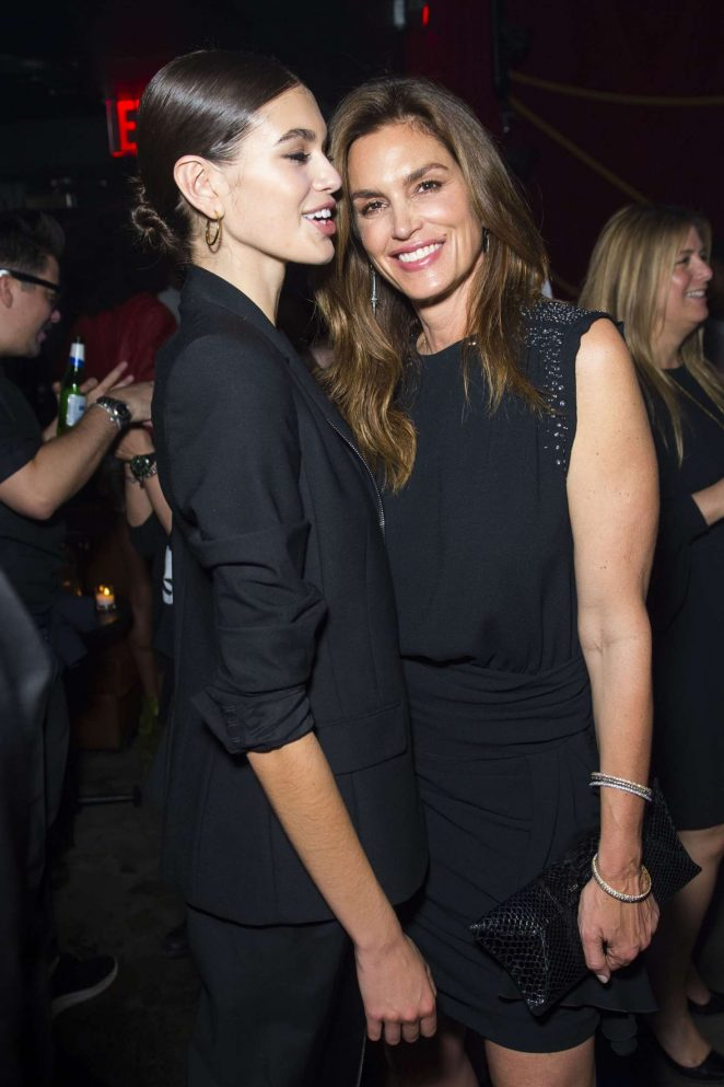 Cindy Crawford and Kaia Gerber - Harry Josh Pro Tools 5th Anniversary Celebration in NYC