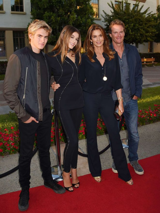 Cindy Crawford and Kaia Gerber - 'Sister Cities' Premiere in Los Angeles