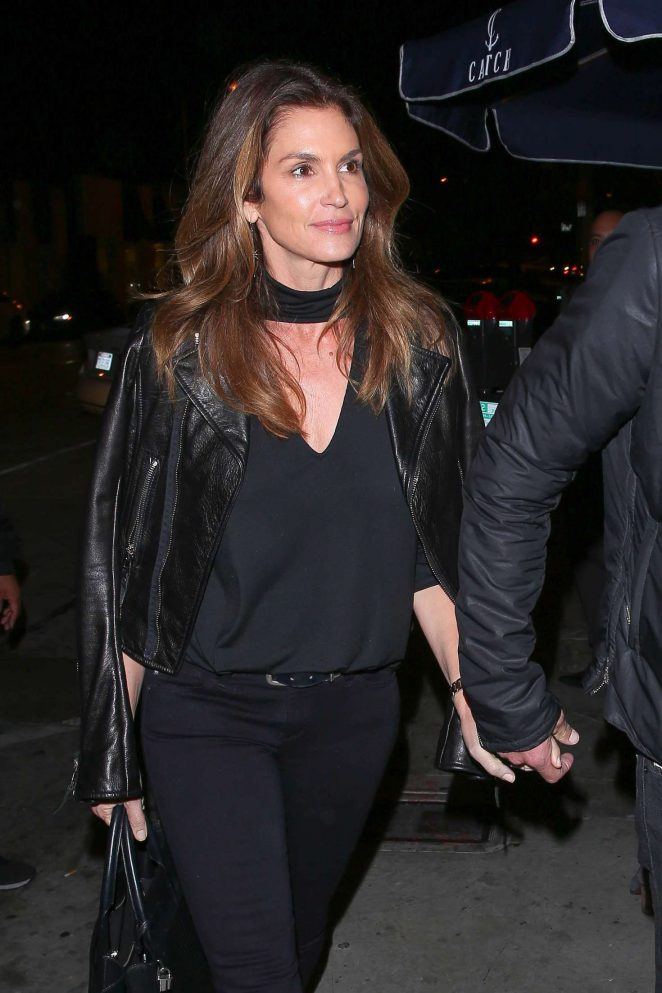 Cindy Crawford at Catch LA in West Hollywood