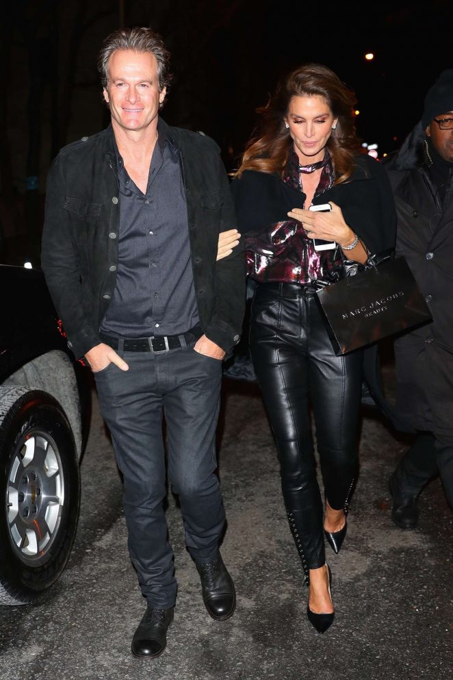 Cindy Crawford at Marc Jacobs private party in New York