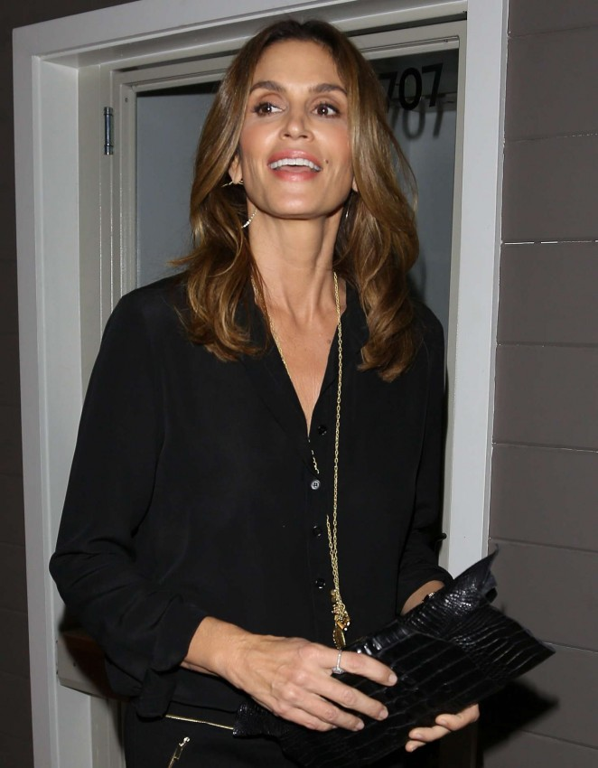 Cindy Crawford at Salon Opening Beverly Hills