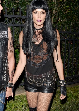 Cindy Crawford - Casa Tequila Halloween Party in Beverly Hills