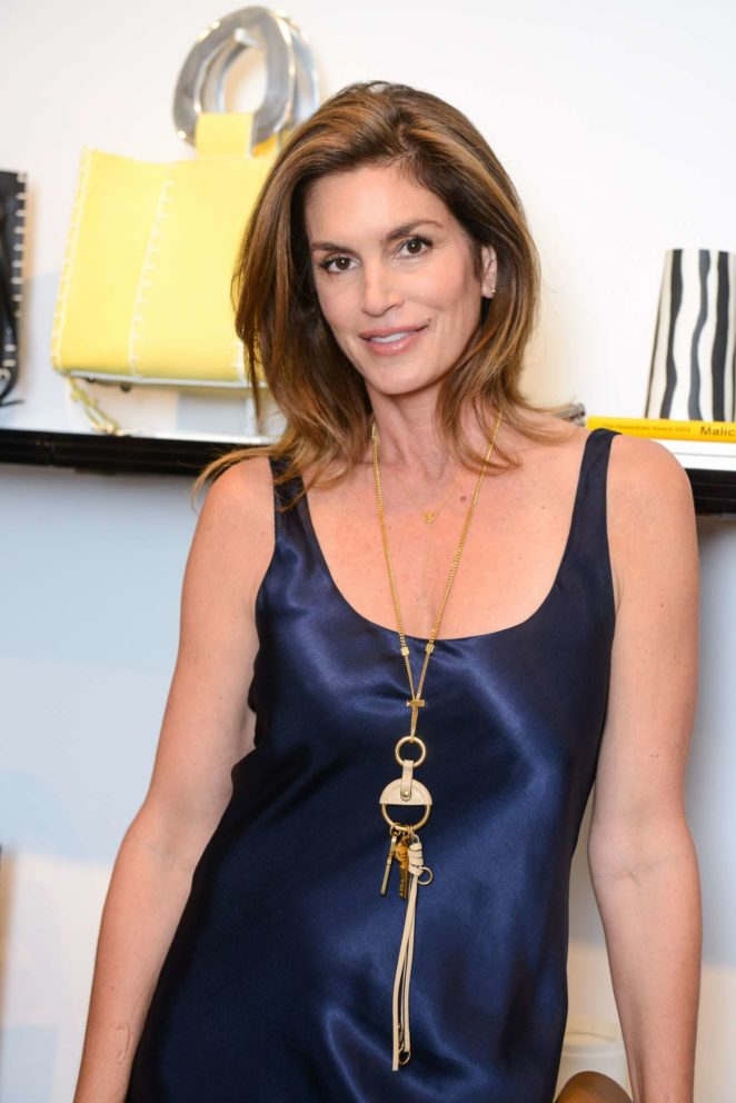 Cindy Crawford - Edun Store Opening in New York
