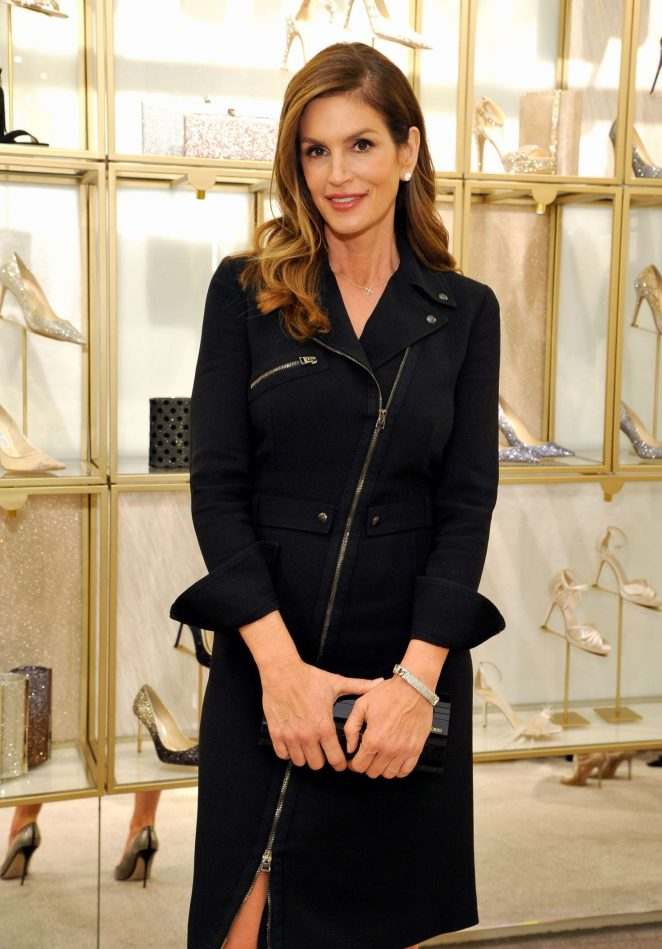 Cindy Crawford - Evening To Support DKMS Hosted By Jimmy Choo And Cindy Crawford in Beverly Hills