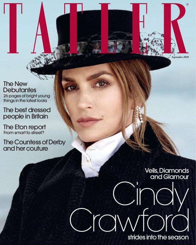 Cindy Crawford for Tatler Magazine (September 2018)