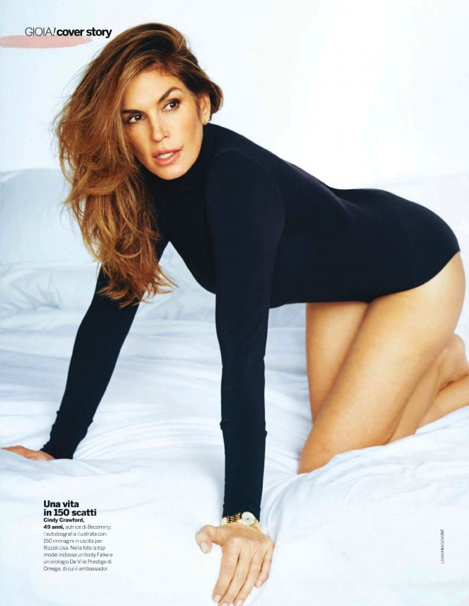 Cindy Crawford - Gioia Magazine (October 2015)