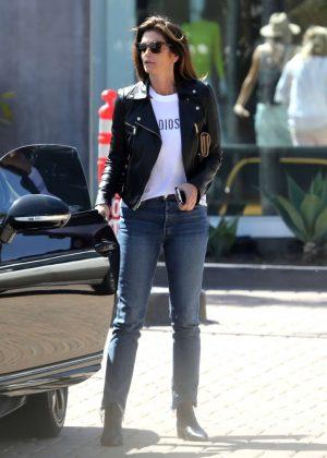 Cindy Crawford - Heading to the Malibu Lumber Yard