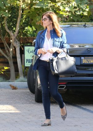 Cindy Crawford in Blue Jeans out in Malibu