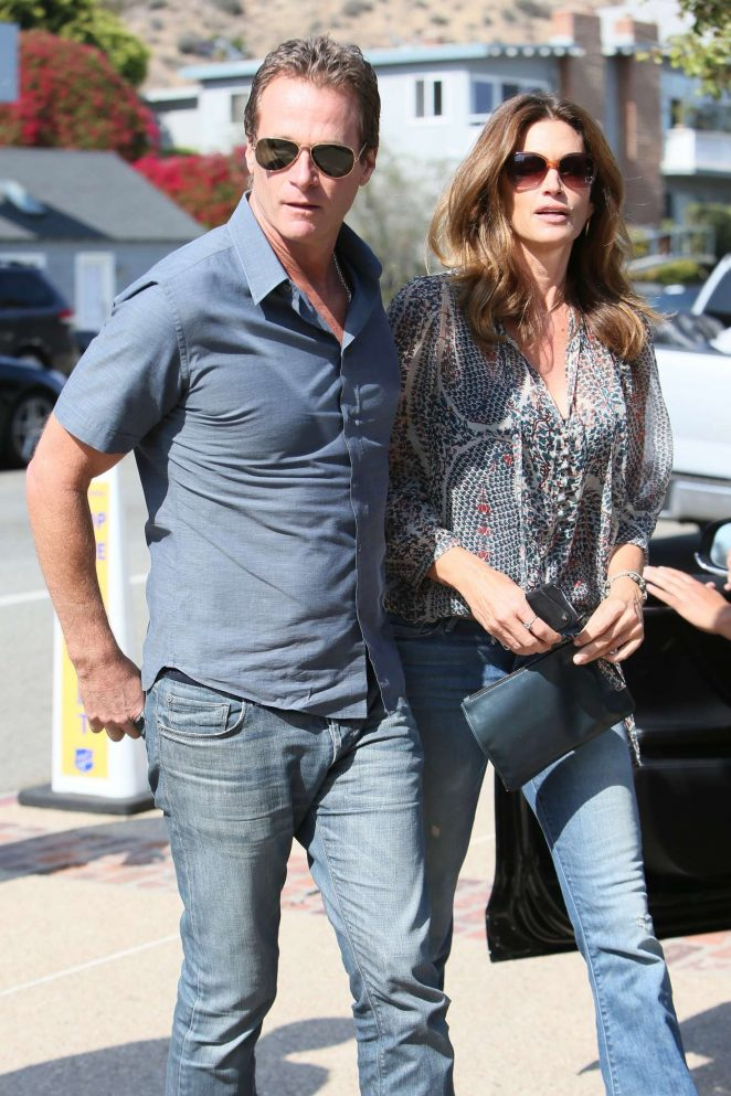 Cindy Crawford - Joel Silver Memorial Day Party in LA