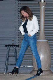 Cindy Crawford - Leaving Nobu in Malibu