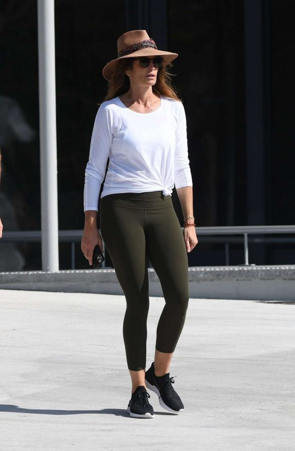 Cindy Crawford - Out and about in Miami Beach