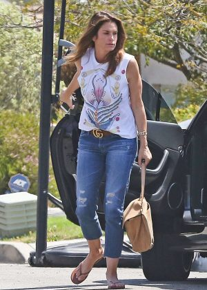 Cindy Crawford out in Malibu