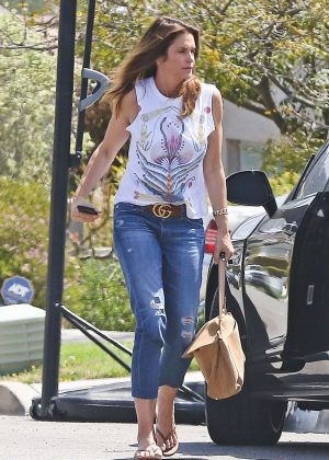 Cindy Crawford out in Malibu