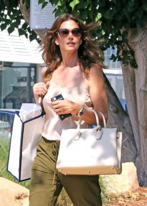 Cindy Crawford - Out in Malibu
