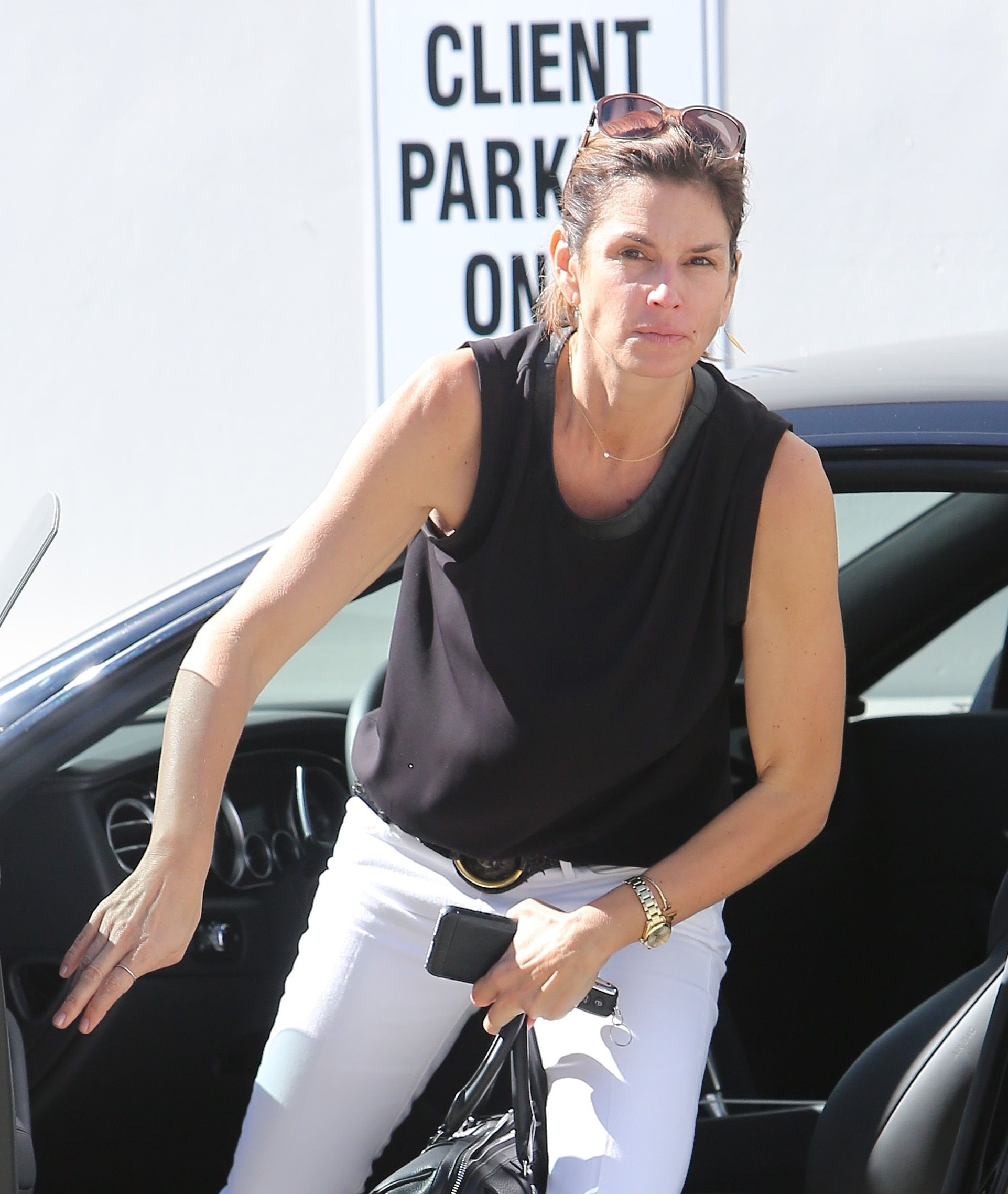 Cindy Crawford Out With No Makeup In Beverly Hills GotCeleb