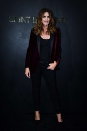 Cindy Crawford - Saint Laurent Womenswear SS 2020 Show at Paris Fashion Week