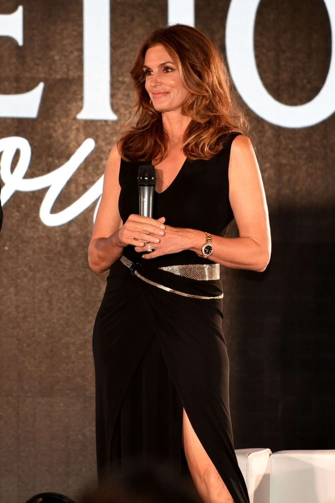 Cindy Crawford: San Benedettos Party in Venice -07