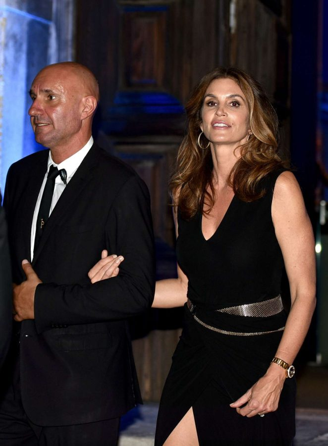 Cindy Crawford: San Benedettos Party in Venice -09