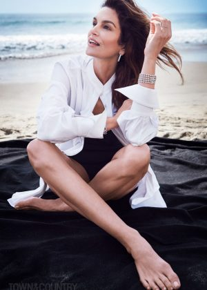 Cindy Crawford - Town and Country Magazine (May 2018)