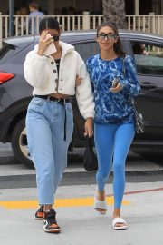 Cindy Kimberly and Chantel Jeffries - Out for lunch at Le Pain in West Hollywood