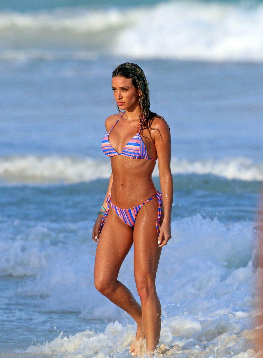 Cindy Prado Doing a Photoshoot in Cancun