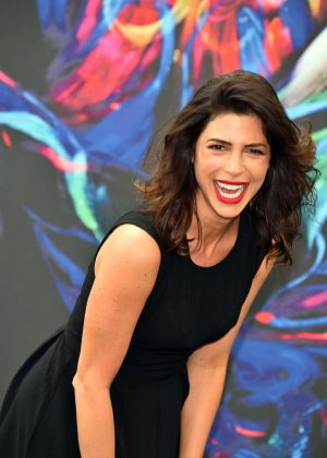Cindy Sampson Private Eyes Photocall At Monte Carlo