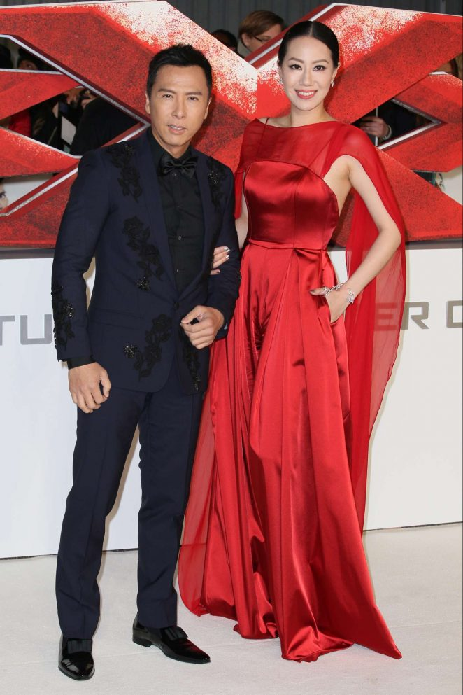 Cissy Wang - 'xXx': Return of Xander Cage' Premiere in London