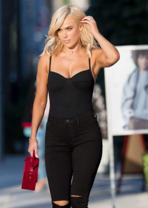 CJ Lana Perry - Leaving Honey Bum in Beverly Hills