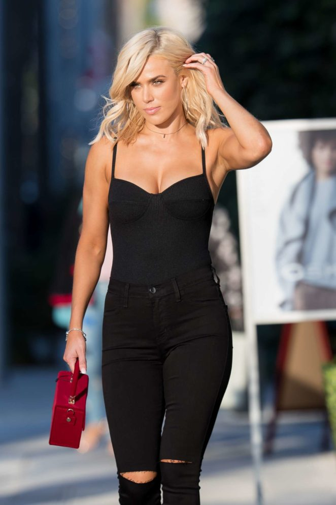 CJ Lana Perry - Leaving Honey Bum in Beverly Hills