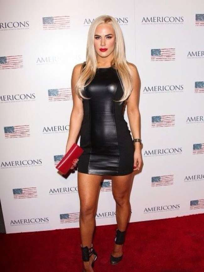"""Cj Perry - """"Americanos"""" Premiere in Hollywood"""
