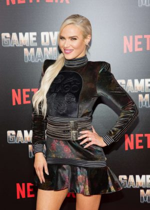 CJ Perry Lana - 'Game Over, Man!' Premiere in Los Angeles