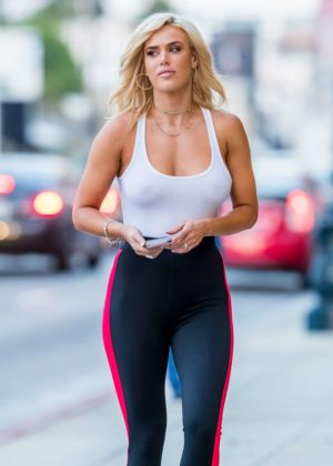 CJ Perry Lana in Tights out in Beverly Hills