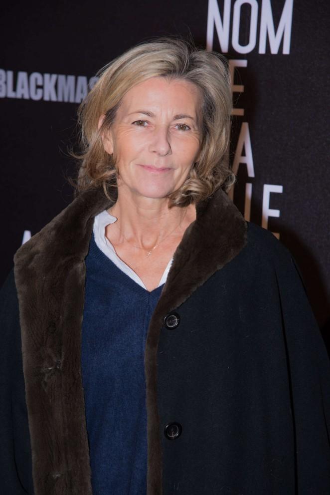 Claire Chazal - 'Au Nom De Ma Fille' Premiere in Paris