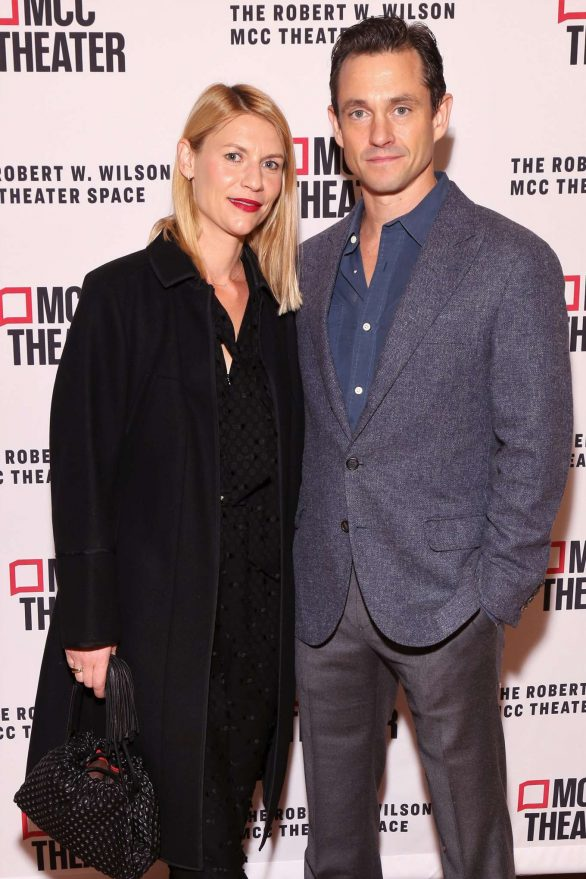 Claire Danes and Hugh Dancy - Opening night of Seared in New York
