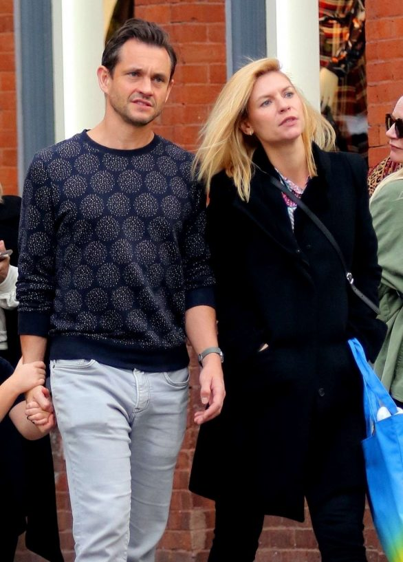 Claire Danes and Hugh Dancy - Out and about in NYC