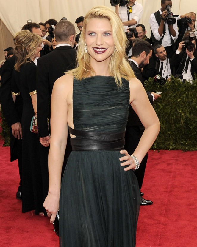 Claire Danes - 2015 Costume Institute Gala in NYC