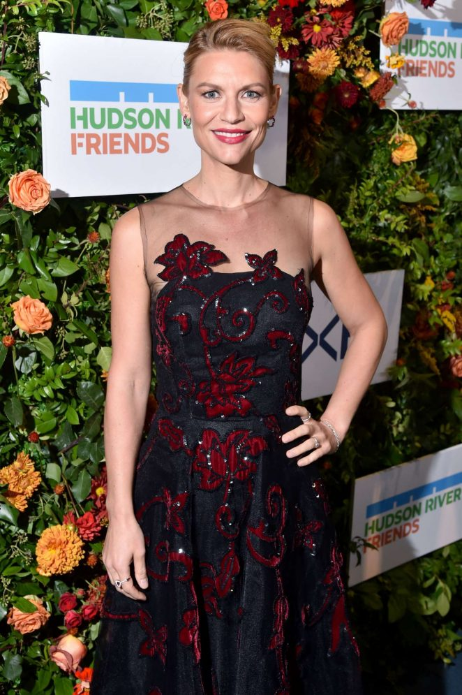 Claire Danes - Hudson River Park Gala in New York