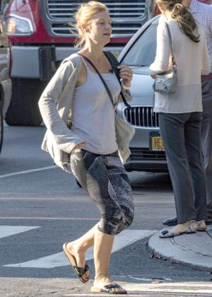 Claire Danes in Spandex - Out in New York